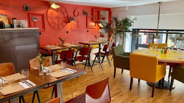 Salle du restaurant - Poni, Paris