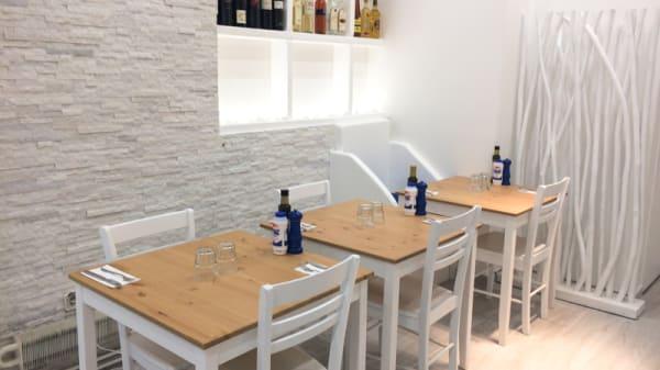 Salle du restaurant - La Maison des Cyclades - Levallois, Levallois-Perret