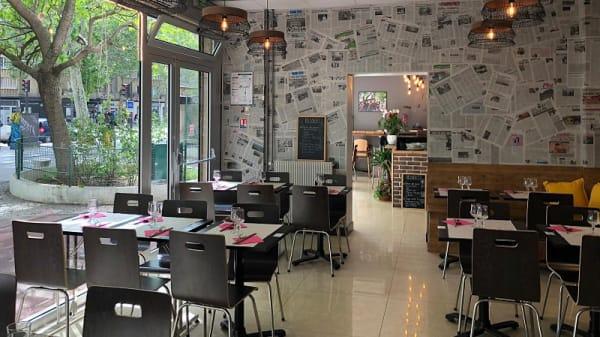 Salle du restaurant - Pho Co, Paris