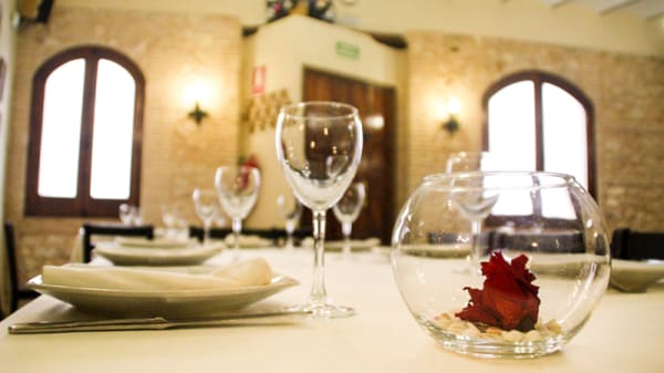 Detalle de la mesa - Mesón La Despensa, Villena