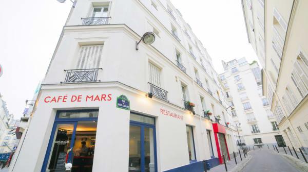 Bienvenue au Café de Mars - Le Café de Mars, Paris