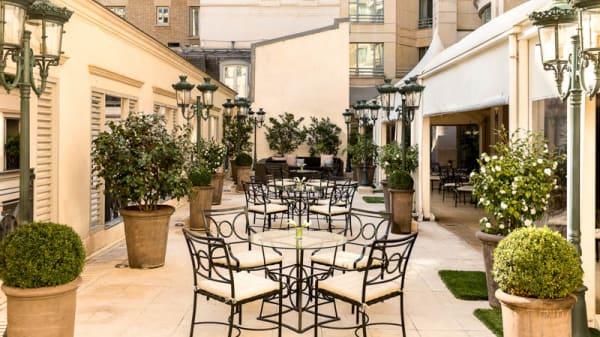 Terrasse - Restaurant du Marriott - Hôtel Marriott Champs-Elysées, Paris