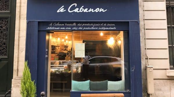 Entrée - Le Cabanon, Paris