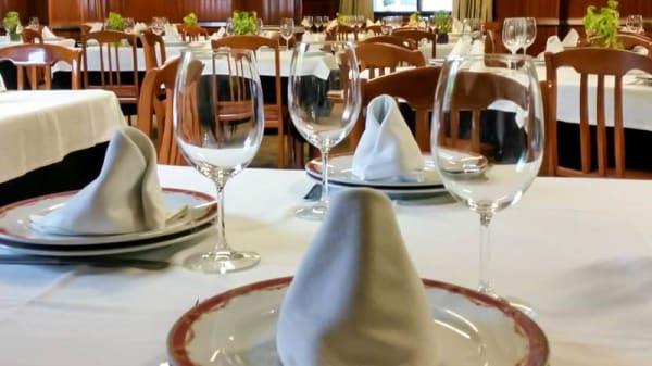Detalle de la mesa - RESTAURANTE AVENIDA, Soutomaior