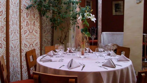 Vista de una mesa 2 - El Palacete, Toledo