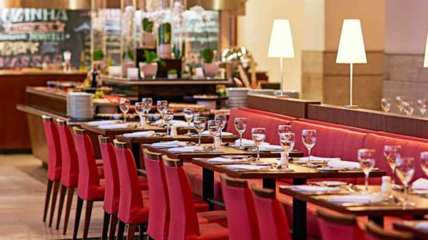 Vista da sala - 365 Bar & Restaurante (Novotel Jaraguá), São Paulo
