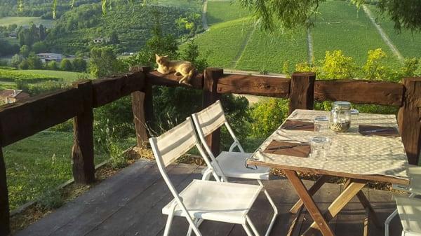 Angolo con veduta panoramica - Locanda Casa Costa, Grazzano Badoglio