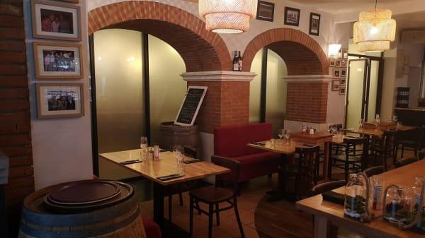 Vue de l'intérieur - La Pergola, Toulouse