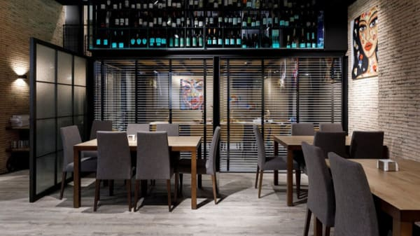 Sala del restaurante - La Picotería, Culleredo