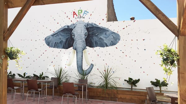 Esplanada - APF - A Partilhar com a Familia, Lisboa