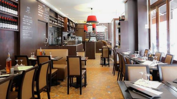 intérieur du restaurant - Pietro Commerce, Paris