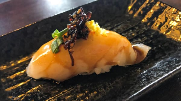 Plato - amada_Carlota Restaurante Japonés, Torazu