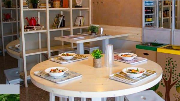 Vista sala - Cergreen Foodly Lunch, Milan
