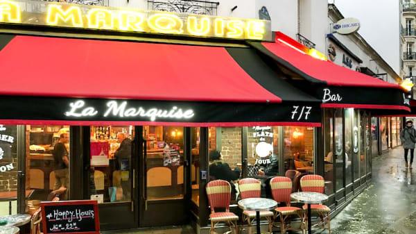 Entrée - La Marquise, Paris