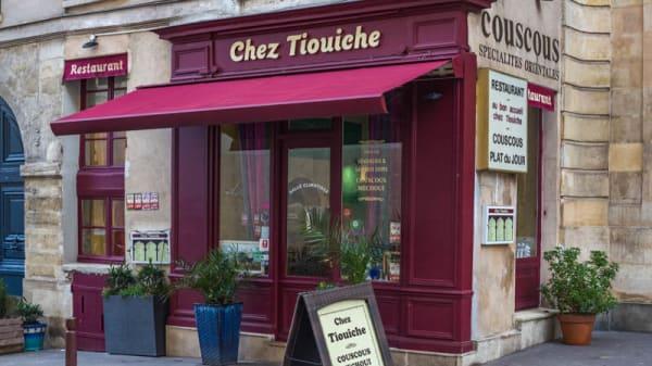 Devanture - Chez Tiouiche, Versailles