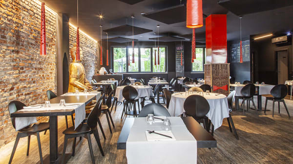 Vista della sala - Sanuk Asian Kitchen, Monza
