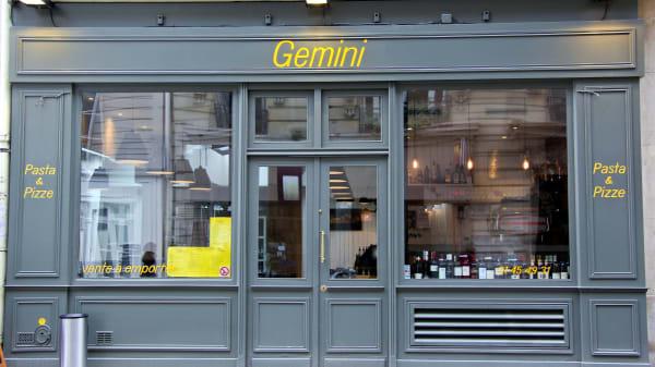 Devanture - Gemini Vaneau, Paris