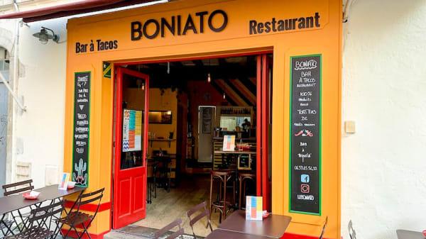 Entrée - Boniato, La Rochelle