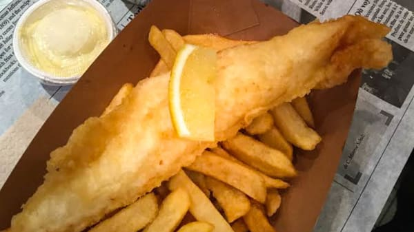 Suggestion de plat - Malins Fish and Chips, Paris