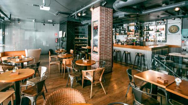 Vista de la sala - Havana 25 Lounge&Bar, Madrid