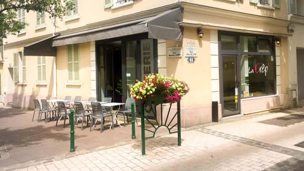 Vue de la terrasse - La Crep', Rueil-Malmaison