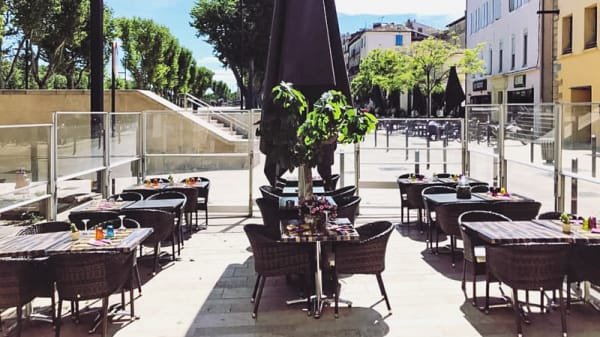 Terrasse - Le Figuier, Narbonne