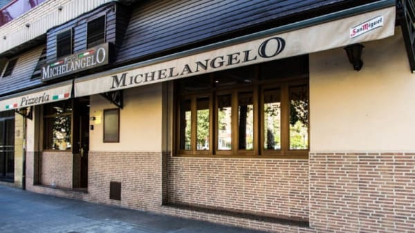 entrada - Pizzeria Michel Angelo, Valencia