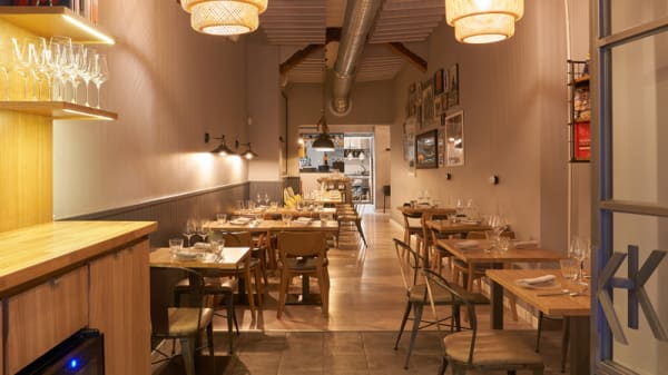 Vista Sala - Kuoco 360 food, Madrid