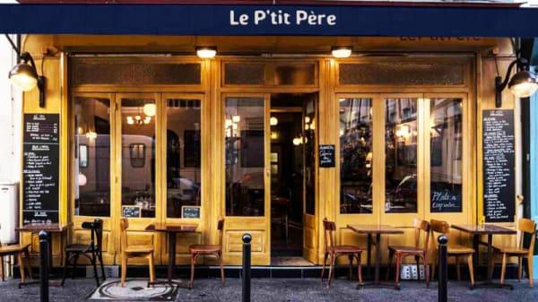 Devanture - Le P'tit Père, Paris