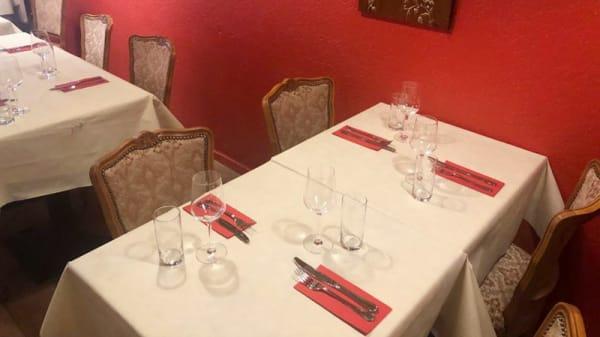 Vue de la salle - King Curry, Genève