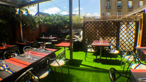 Terrasse - Filipo & Co, Livry-Gargan