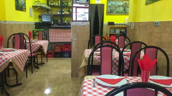 Sala del restaurante - Arapona, Madrid