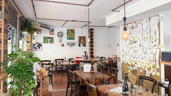 Vista de la sala - Gradi Pizza & Craft Beers, Los Cristianos