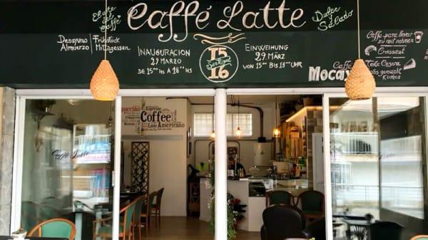 Entrada - Caffe Latte (Bar-Cafeteria), Cala Ratjada