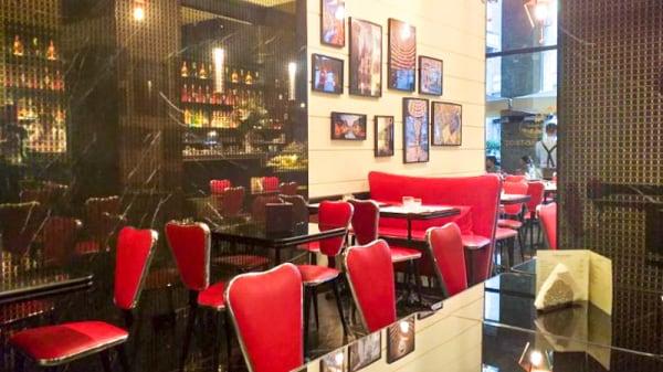 Vista della sala - Gatto Rosso Bistrot, Milano