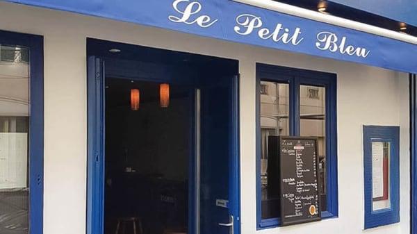 Devanture - Le Petit Bleu - Saint Maur, Paris