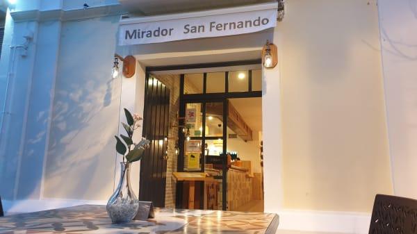 Restaurante Mirador San Fernando, Sevilla
