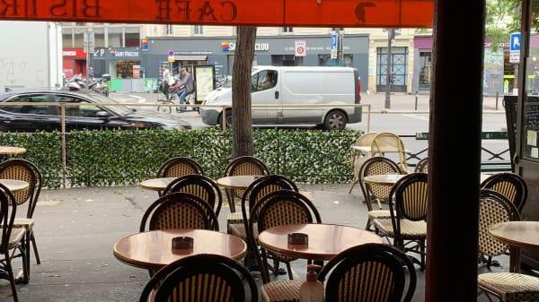 Terrasse - Le Toucan, Paris