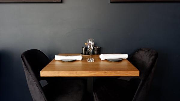 Detail van de tafel - Restaurant De Zeeuw, Haarlem