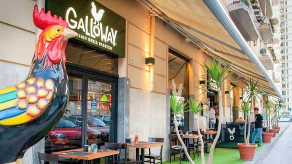 Entrata - Galloway Palermo, Palermo
