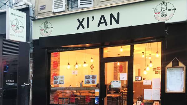 Devanture - Xi'an, Paris