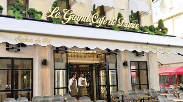 Entrée - Le Grand Café de France, Nice