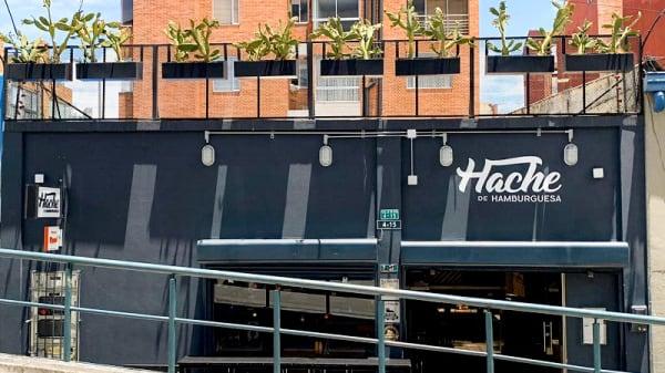 Fachada - Hache de Hamburguesa (Chapinero), Bogotá