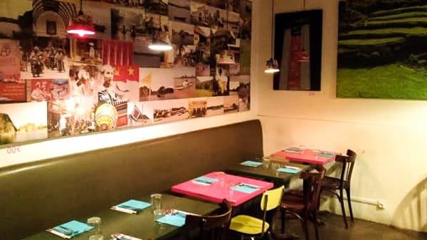 Vue salle - La Can Tin'h, Boulogne-Billancourt