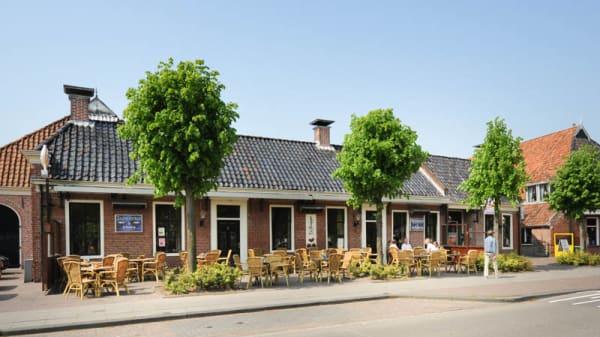 het restaurant - De Pompstee, Roden