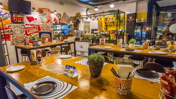 Vista de la sala - Platero Utopic Food, Valencia