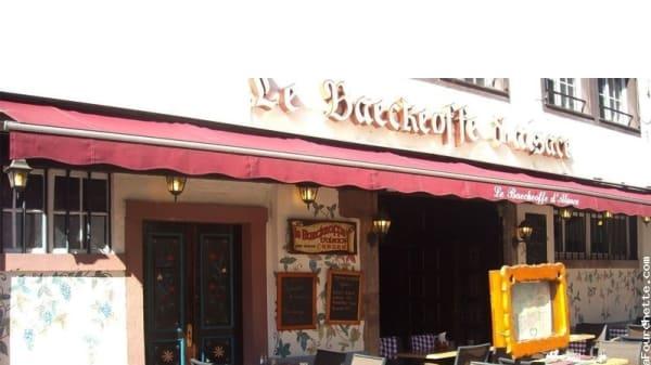 Devanture - Le Baeckeoffe d'Alsace, Strasbourg