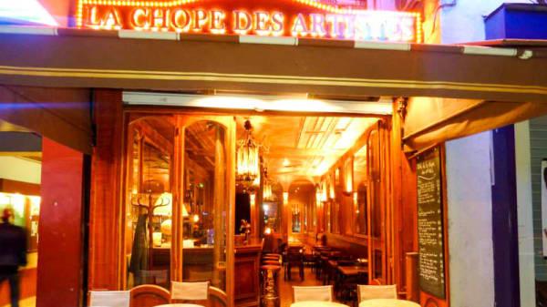 Entrée - La Chope des Artistes, Paris