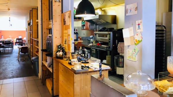 Het restaurant - La Fucina Javastraat, Amsterdam