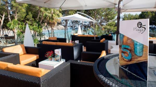 Terraza - Playa 5 Restaurant - Snacks & Food - Cocktail Lounge, Peguera